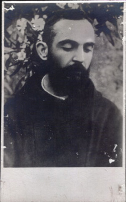 1919 Padre Pio courtesy of Archivio Alberindo Grimani