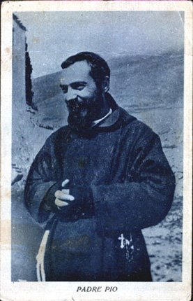1930 Padre Pio courtesy of Archivio Alberindo Grimani