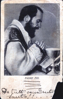 1938 Padre Pio courtesy of Archivio Alberindo Grimani