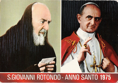 1975 Padre Pio courtesy of Archivio Alberindo Grimani