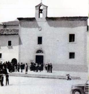The original Church of San Giovanni Rotondo