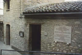 Padre Pio's home - other view