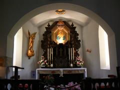 Altar in the Schoenstatt Shrine